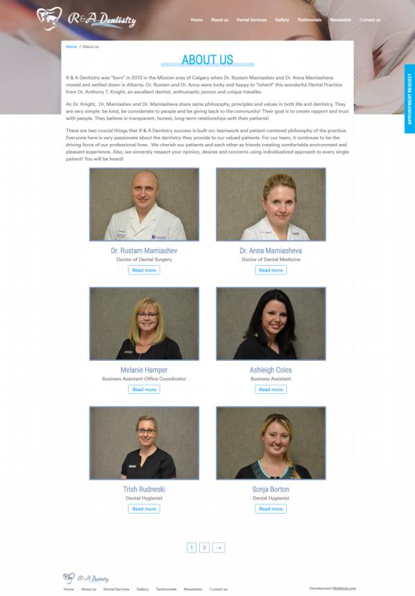 R&A Dentistry - стоматологическая клиника в Канаде